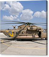 A Sikorsky Ch-53 Yasur Of The Israeli Canvas Print