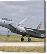 An F-15c Eagle Baz Aircraft Canvas Print