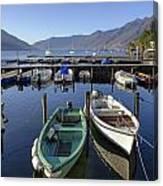 Ascona - Lake Maggiore Canvas Print