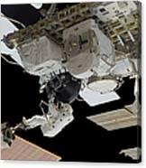 Astronaut Participates Canvas Print