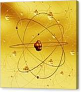Atomic Structure, Artwork Canvas Print