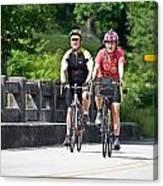 Bicycle Ride Across Georgia Canvas Print