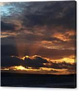 Bournemouth Sunset Canvas Print