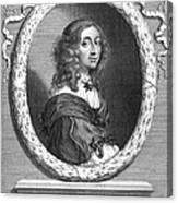 Christina (1626-1689) Canvas Print