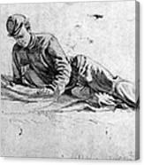 Civil War: Soldier Canvas Print