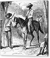 Cuba: Ten Years War Canvas Print