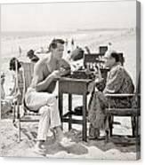 Film Still: Beach Canvas Print