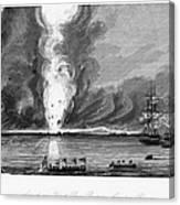 First Opium War, 1841 Canvas Print