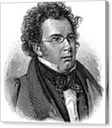 Franz Schubert (1797-1828) Canvas Print