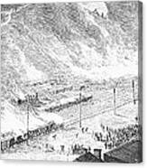 Great Railroad Strike, 1877 Canvas Print