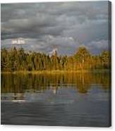 Lake Of The Woods, Ontario, Canada Canvas Print