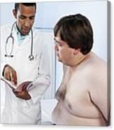 Medical Consultation Canvas Print