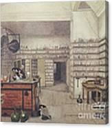 Michael Faraday, English Physicist Canvas Print