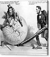 Presidential Campaign: 1864 Canvas Print