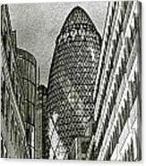 The Gherkin London Canvas Print