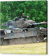 The Leopard 1a5 Main Battle Tank Canvas Print