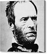 William Tecumseh Sherman Canvas Print