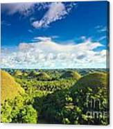 Chocolate Hills Canvas Print