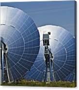 Concentrating Solar Power Plant Canvas Print