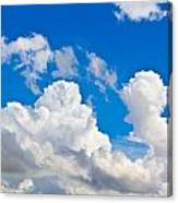 English Summer Sky Canvas Print