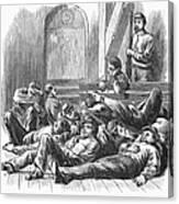 Great Railroad Strike, 1877 Canvas Print