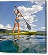 Paddle Board Canvas Print