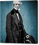 Samuel Morse, American Inventor Canvas Print