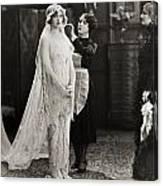 Silent Film Still: Wedding Canvas Print