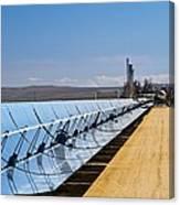 Solar Power Plant, California, Usa Canvas Print