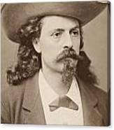 William F. Cody (1846-1917) Canvas Print