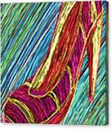 80's High Heels Canvas Print