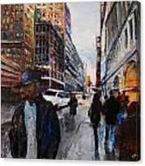 82nd Street Canvas Print