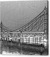 Albert Bridge London Canvas Print