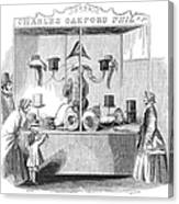 Crystal Palace, 1853 Canvas Print