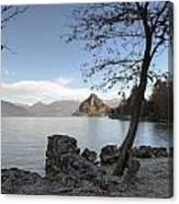 Lake Maggiore Canvas Print