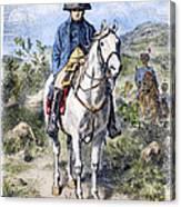 Napoleon I (1769-1821) Canvas Print