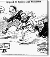 Presidential Campaign 1908 Canvas Print