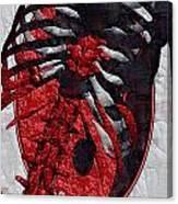 Torso Skeleton Canvas Print