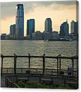 View From Battery Park City Canvas Print