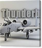A-10 Thunderbolt II Canvas Print
