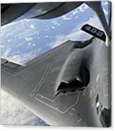 A B-2 Spirit Receives Fuel Canvas Print