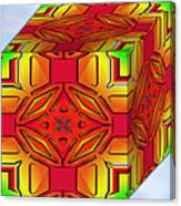 A Beautiful Cube Canvas Print