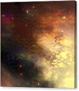 A Beautiful Nebula Out In The Cosmos Canvas Print
