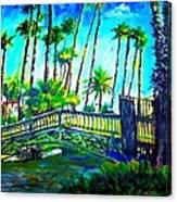 A Bridge To Home Canvas Print