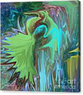 A Broken Wing - Abstract Canvas Print