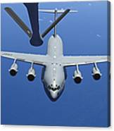 A C-17 Globemaster IIi Approaches Canvas Print