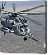 A Ch-53e Super Stallion Approaches Canvas Print