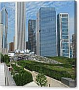 A Chicago View Canvas Print