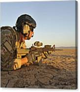 A Combat Rescue Officer Provides Canvas Print