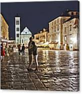 A Croatian Night Canvas Print